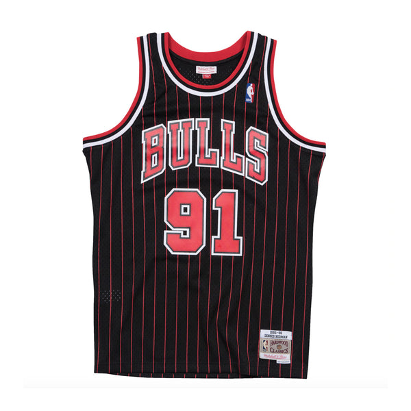 NBA Hardwood Classics Swingman Jersey Alternate Chicago Bulls Dennis Rodman 1995-96