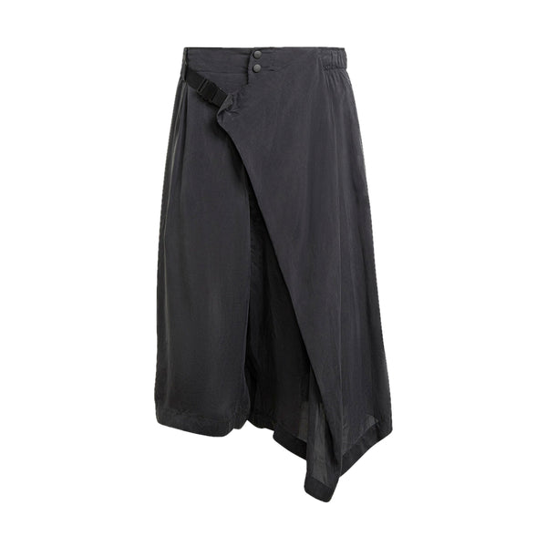 CH3 Sanded Cupro Shorts 'Off Black'