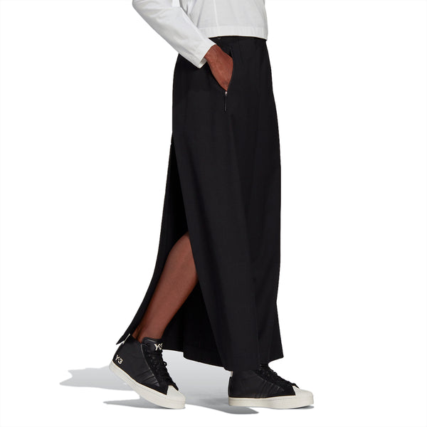 Wmns CL Refined Wool Cropped Wide Leg Pants
