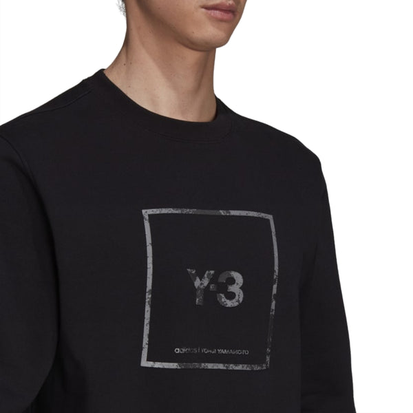 Reflective Square Logo Sweatshirt