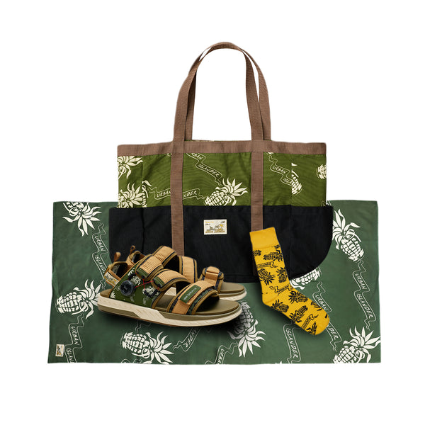 Urban Islander Beach Bundle 'Olive'