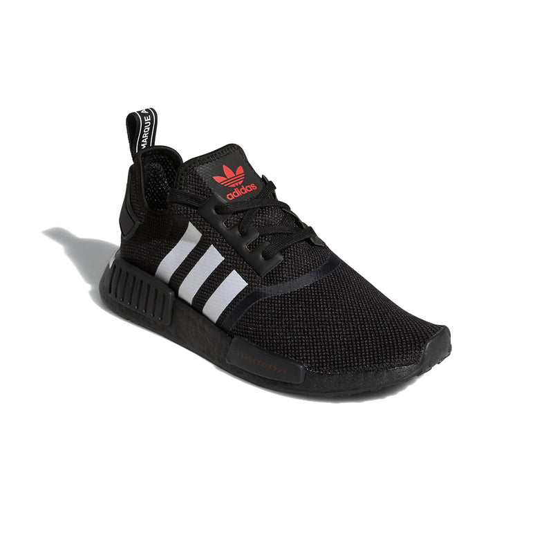 NMD_R1 'Japanese Side Print - Black White'