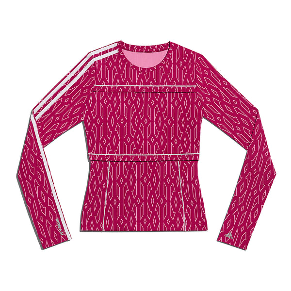 + IVY PARK 2-In-1 Snap Monogram L/S Top