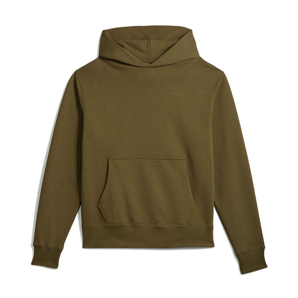 + Pharrell Williams Basics Hoodie 'Olive Cargo'