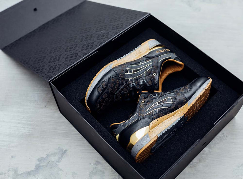 "Asics Tiger x Limited Edt Gel Lyte III ""Vanda Kuro"" (collector box edition-Singapore exclusive)"