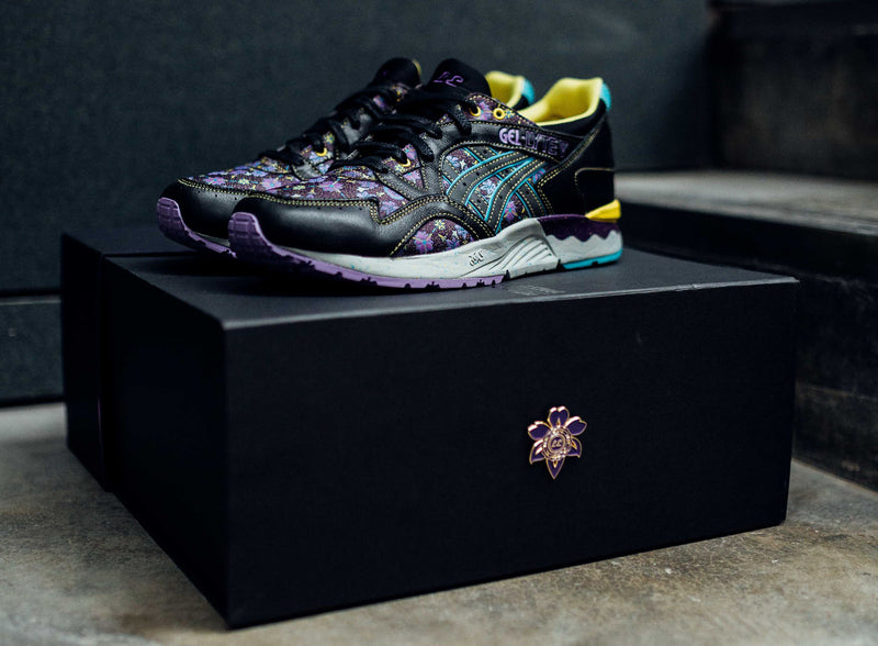 "Asics Tiger x Limited Edt Gel Lyte V ""Vanda Murasaki"" (collector box edition-Singapore exclusive)"