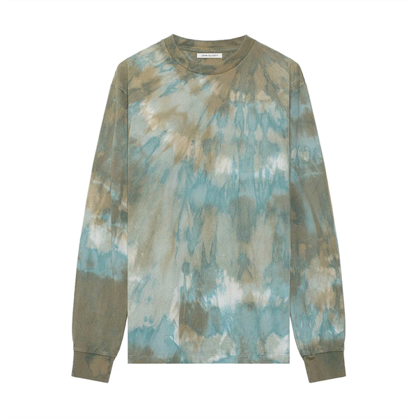 L/S University Tee 'Sorrel Tie Dye'