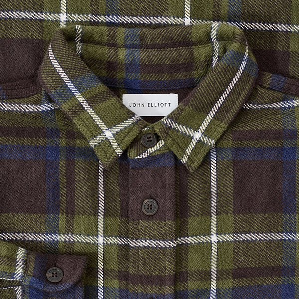 Hemi Oversized Shirt 'Butte Plaid'