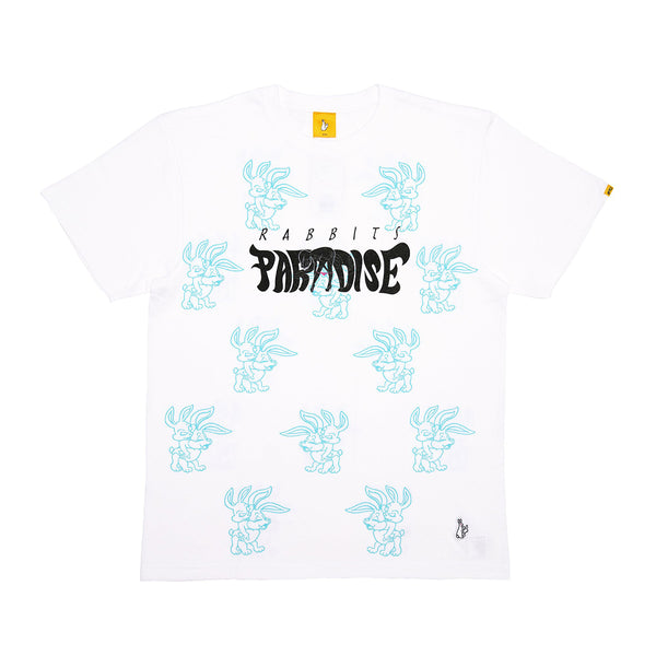 "FR2 x MIP ""PARADISE FOR RABBITS"" TEE WHITE"