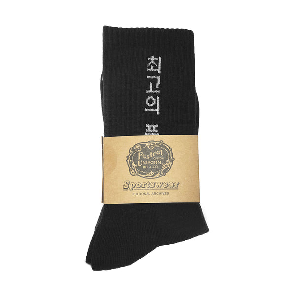 OTHQ Socks 'Black Cream'