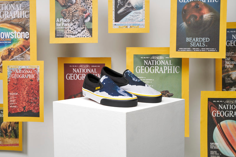 + National Geographic Slip-On