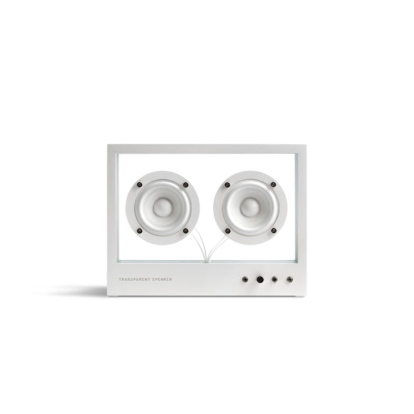 Small Glass Speaker 'White'