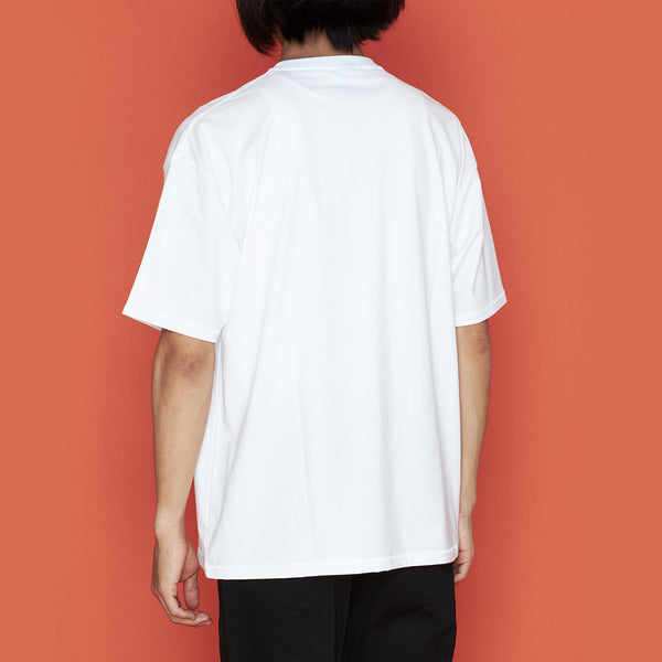 + SBTG BIG T-SHIRT #1 WHITE