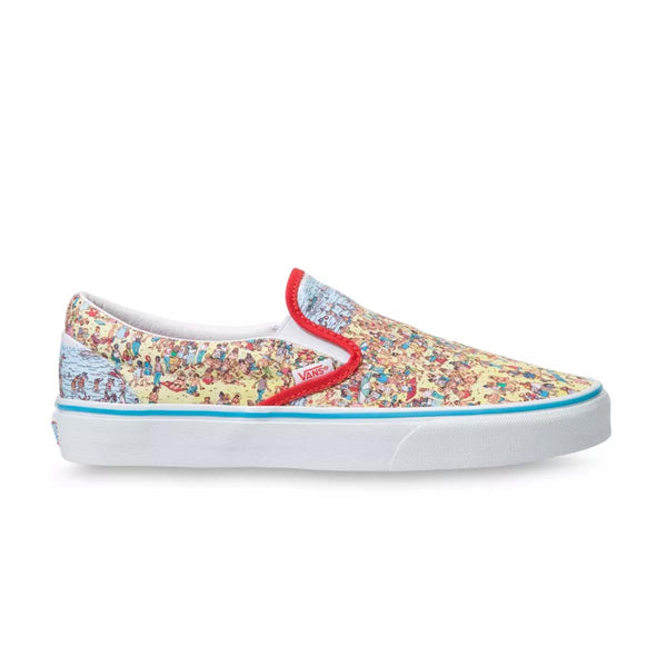 + Where's Waldo? UA Classic Slip On