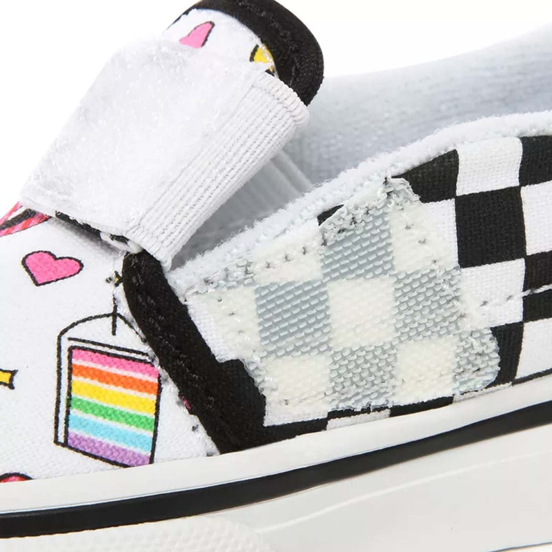 Slip On V Toddler (Flour Shop) Icons/Checkerboard