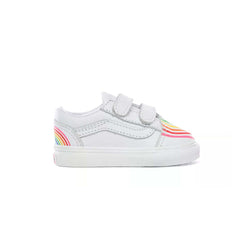 + Flour Shop Old Skool TD 'Rainbow True White'