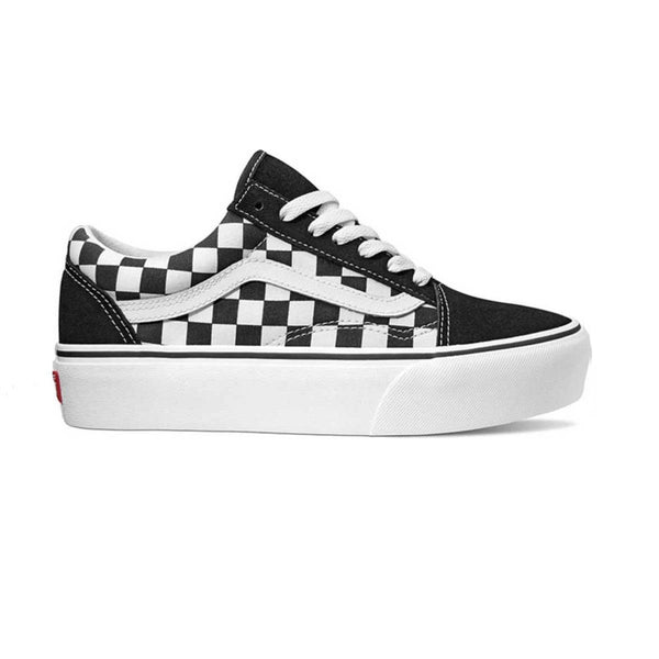 Vans UA OLD SKOOL PLATFORM (CHECKERBOARD) women