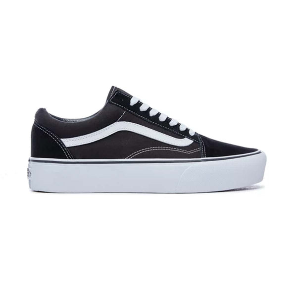 Vans UA OLD SKOOL PLATFORM Black/White women