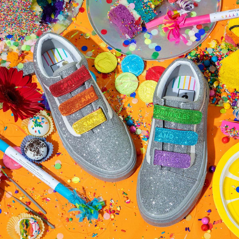 + Flour Shop Old Skool 'Silver Rainbow'