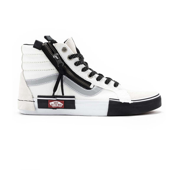 Vans UA SK8 Hi Reissue CA (Reflective)Mrshmllw/black (Cut And Paste Collection)