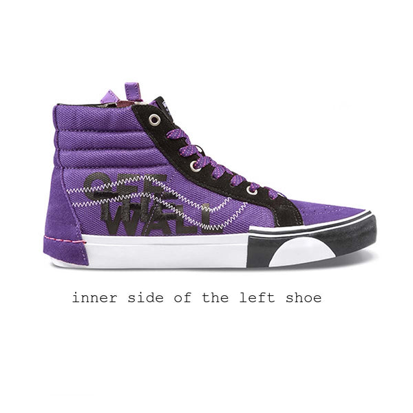 Vans UA SK8 Hi Reissue CA (Reflective) Indigo/black (Cut And Paste Collection)