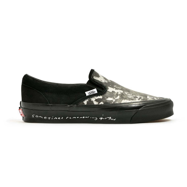 + Jim Goldberg of Raised By Wolves OG Classic Slip-On 'Black Wall'