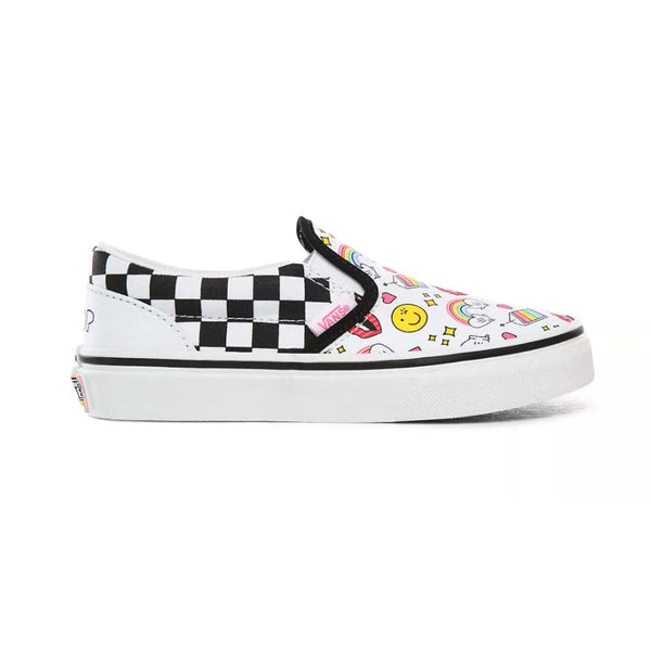 + Flour Shop Classic Slip-On Kids 'Icons Checkerboard'
