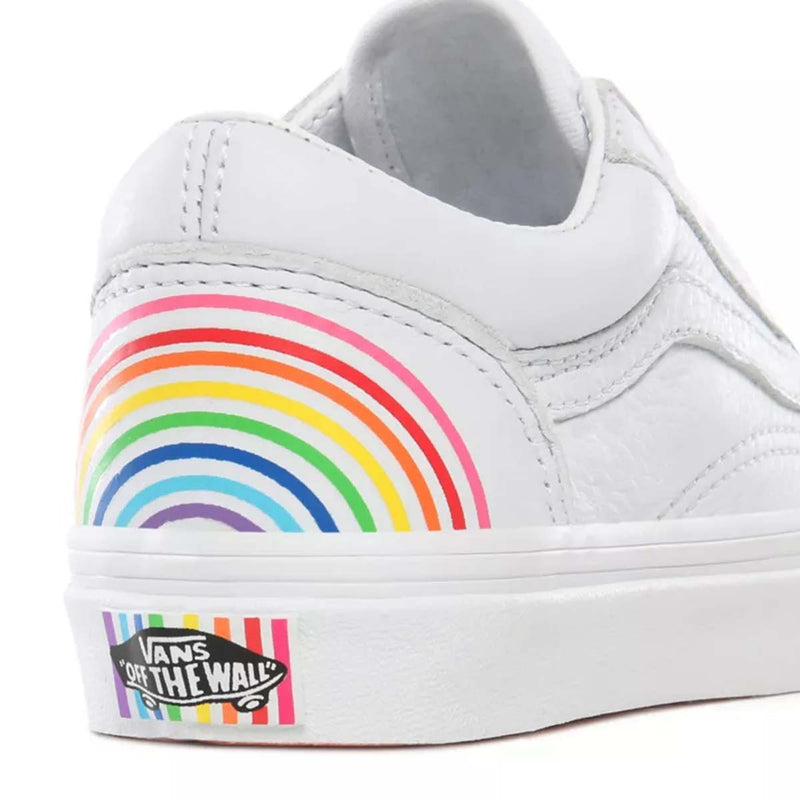 Old Skool Kids (Flour Shop) Rainbow/True White