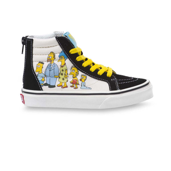 + The Simpsons Kids Sk8-Hi Zip