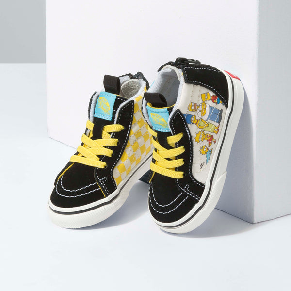 + The Simpsons Toddler Sk8-Hi Zip
