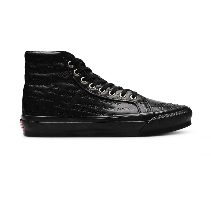 + Jim Goldberg of Raised By Wolves OG Sk8 Hi LX 'Black Leather'