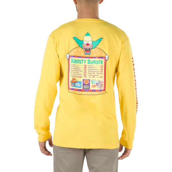 + The Simpsons Krusty L/S Tee