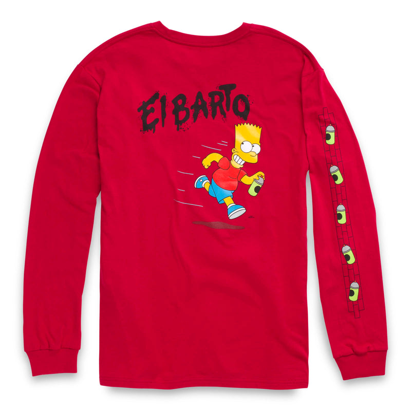 + The Simpsons El Barto Long Sleeved Tee