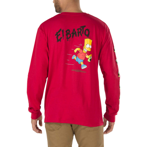 + The Simpsons El Barto L/S Tee
