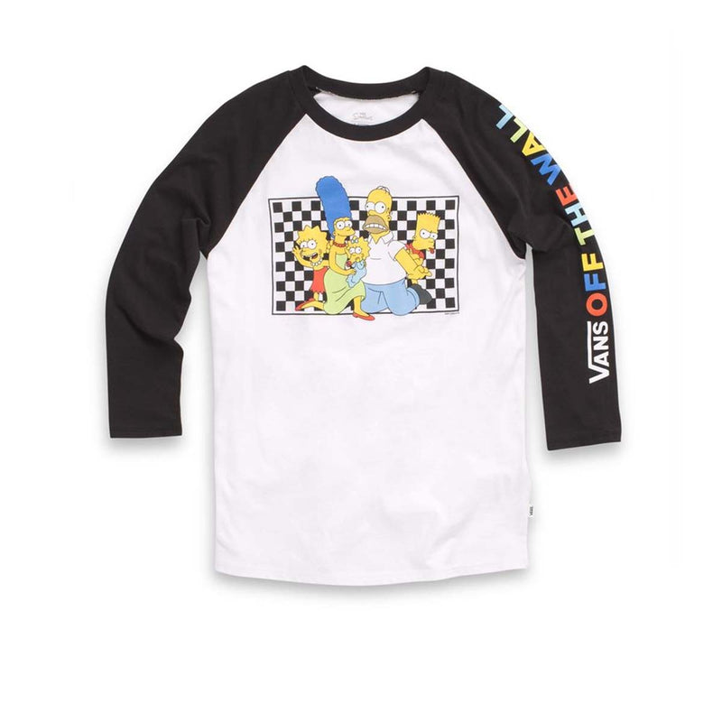 + The Simpsons (Family) Raglan T-shirt
