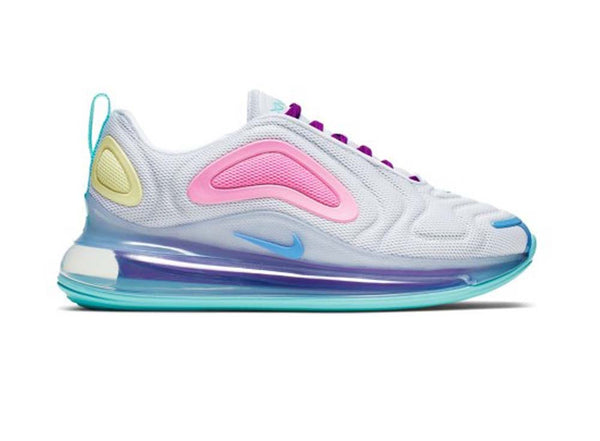 Nike WMNS Air Max 720 WHITE/LIGHT AQUA-CHALK BLUE-PSYCHIC PINK