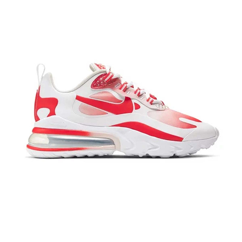 Nike Wmns Air Max 270 React SE White/Track Red/Barely Rose