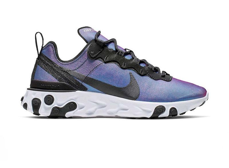 Nike Womens React Element 55 PRM Laser Fuchsia
