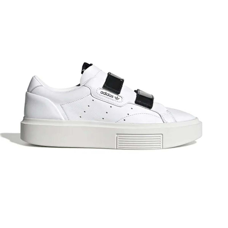 Adidas Sleek Super FTWWHT/FTWWHT/CBLACK  womens
