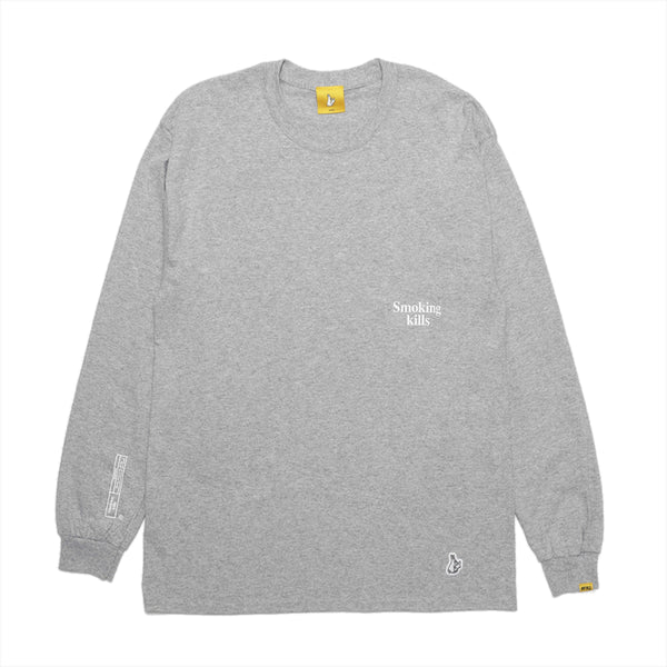 Smoking Kills Box Logo L/S Tee