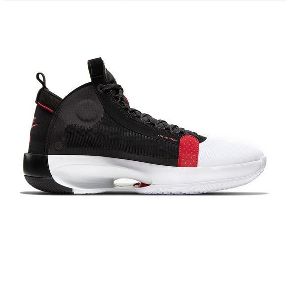 Nike Air Jordan XXXIV PF WHITE/UNIV RED-BLACK Mens