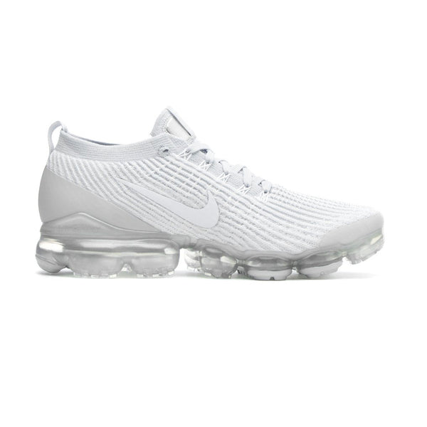 Nike Air Vapormax Flyknit 3 Pure Platinum/Metallic Silver/White Mens