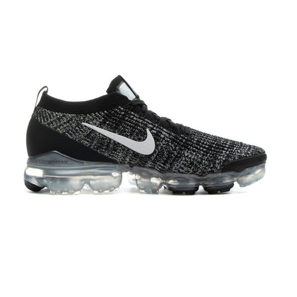 Nike Air Vapormax Flyknit 3 Black/White/Metallic Mens