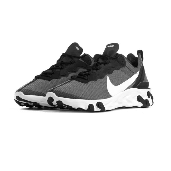 Nike React Element 55 SE Black/White Mens