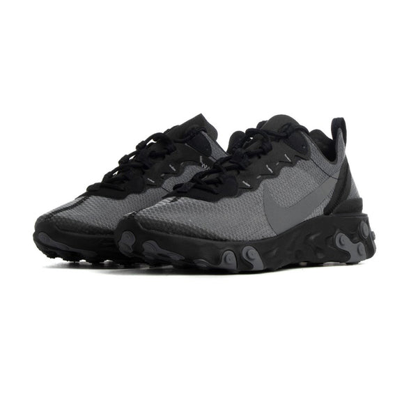 Nike React Element 55 SE Black/Dark Grey Mens
