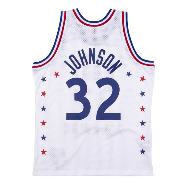 NBA Hardwood Classics Swingman Jersey All-Star West Magic Johnson 1983