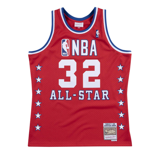 NBA Swingman Jersey All-Star West Magic Johnson 1988