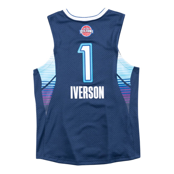 NBA Hardwood Classics Swingman Jersey All-Star East Allen Iverson 2009