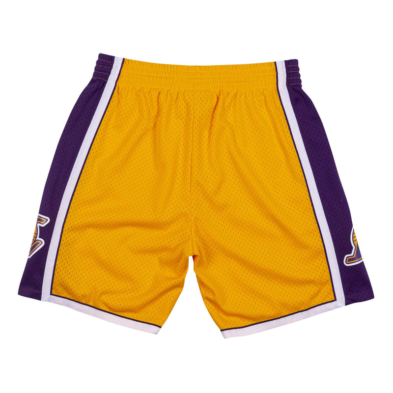 Swingman Shorts Los Angeles Lakers 2009-10 Light Gold/Purple