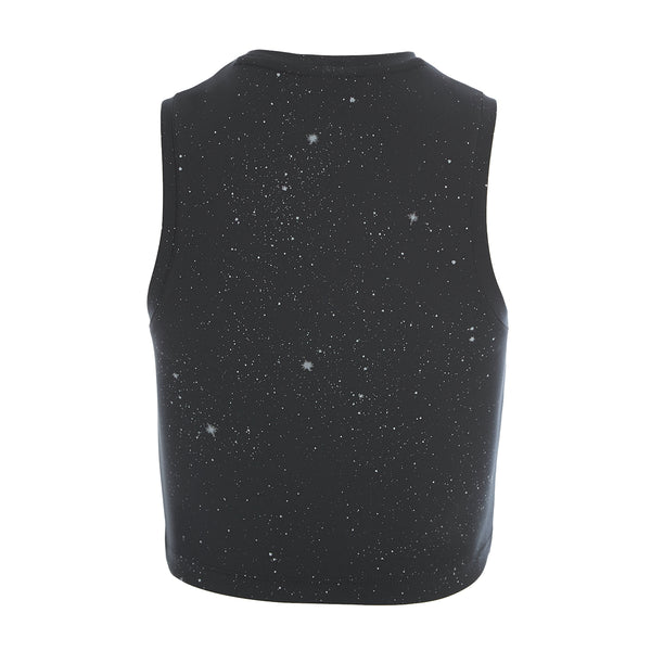+ NIKI Moonchild Galaxy Cropped Tank